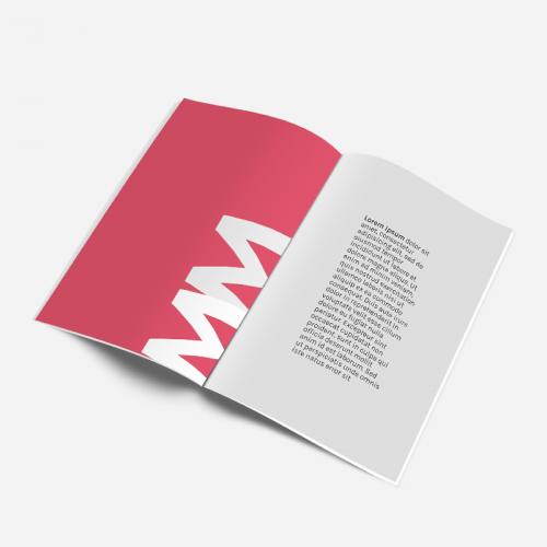 Brochures A4 ou A5 120g sans bord blanc