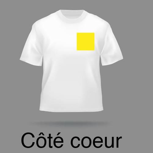 Transfert T-Shirt au coeur